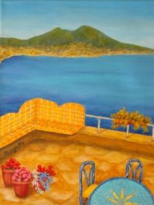 Veduta di Vesuvio