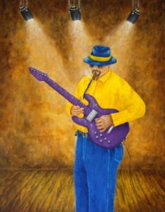 BLUES GUITAR MAN