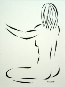 RIPOSE - 2 -FEMALE NUDE