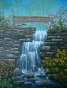 Waterfall Flowers 2429x3189