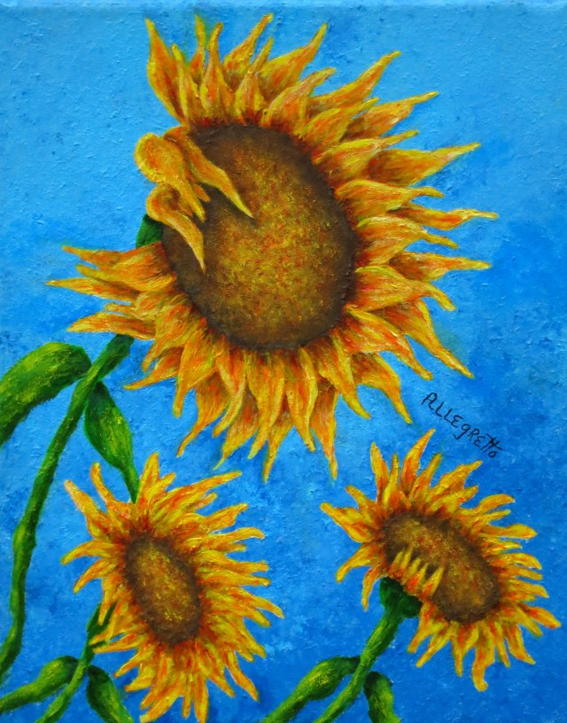 3 SUNFLOWERS